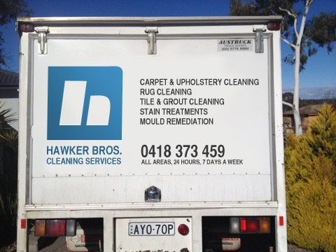 Hawker Bros Cleaning Services - Truck